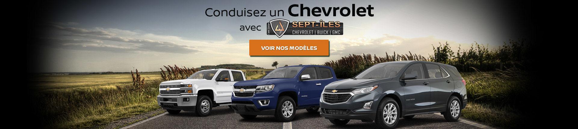 Chevrolet Sept-Îles
