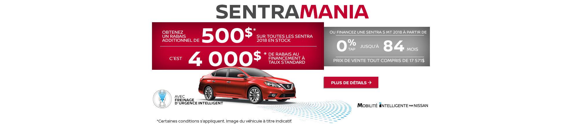 L'événement Sentra Mania chez Nissan!