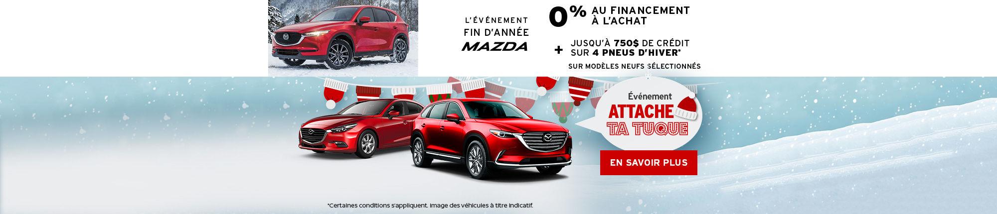 L'événement Mazda