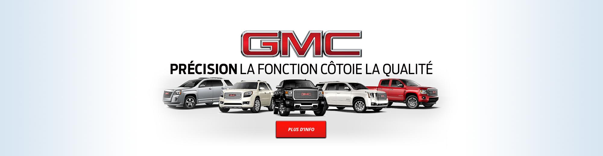 GMC | Précision la fonction côtoie la qualité