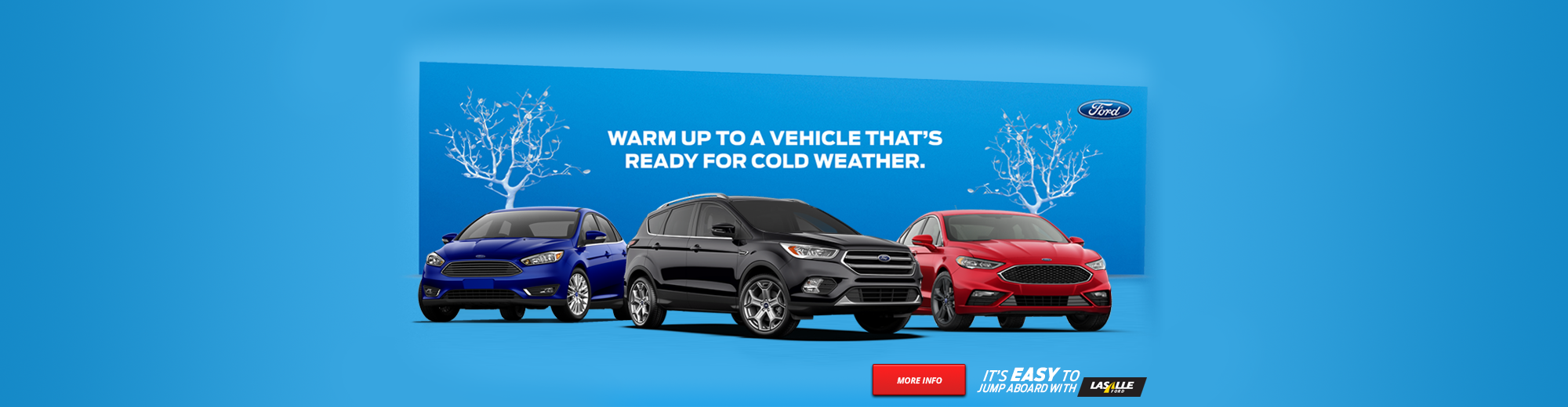Warm up to a vehicle that's ready for cold weather