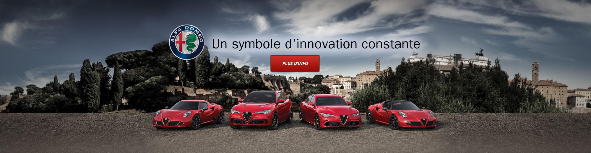 Alfa Romeo Un symbole d'innovation constante