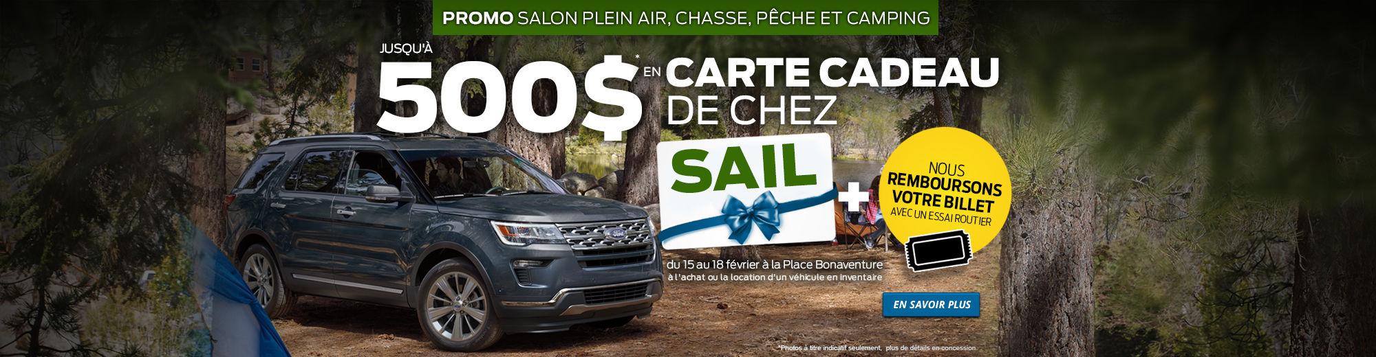 Promo Salon Plein Air, Chasse, Pêche et Camping