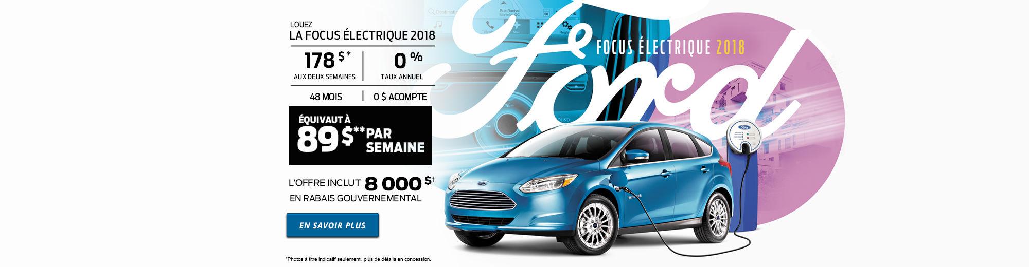 Focus Électrique 2018
