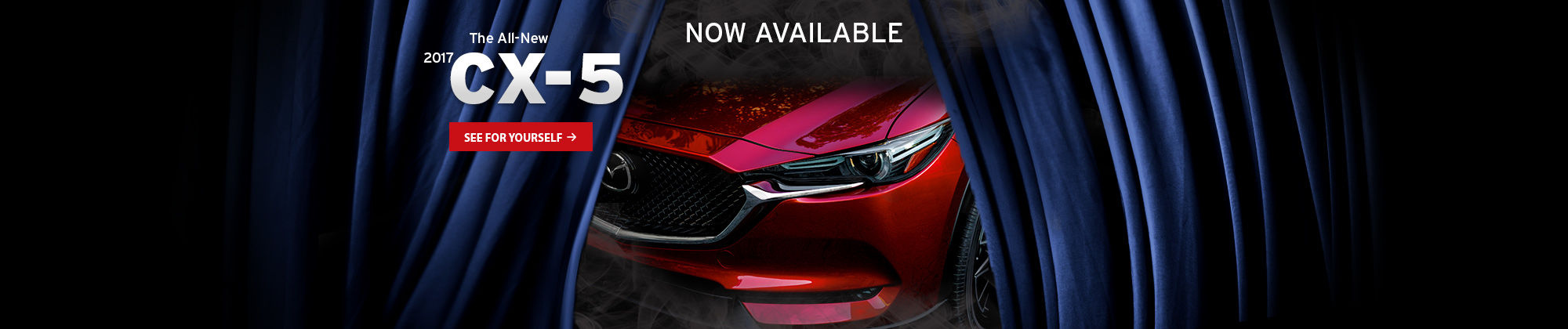 The all-new 2017 CX-5