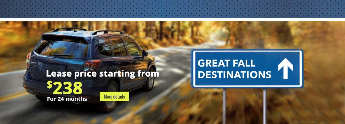 Great Fall Destinations