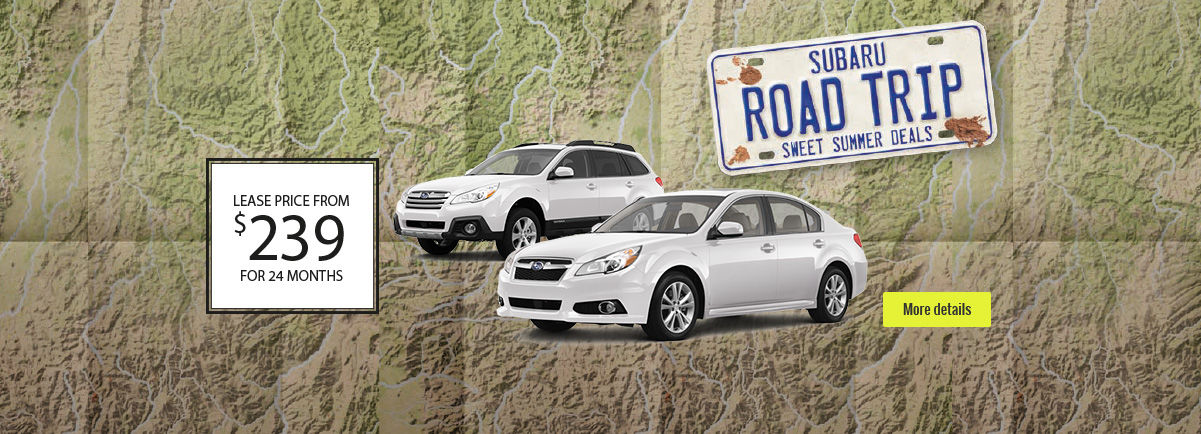 Subaru - Road Trip - Header