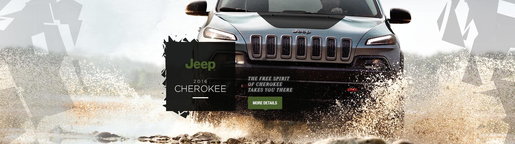 2016 Cherokee