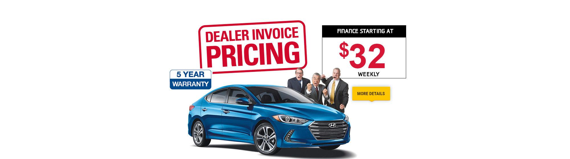 Dealer Invoice Pricing