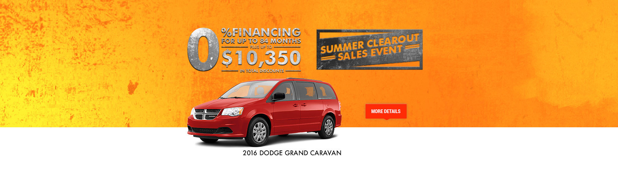 Summer Clearout Sales Event