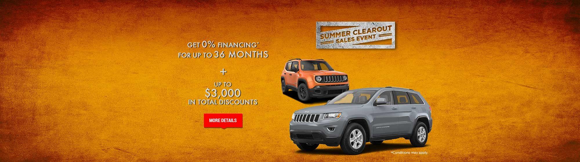 Jeep July Promo