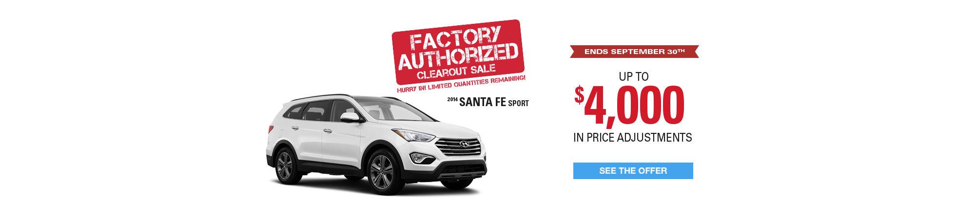 SantaFe - Authorized Factory