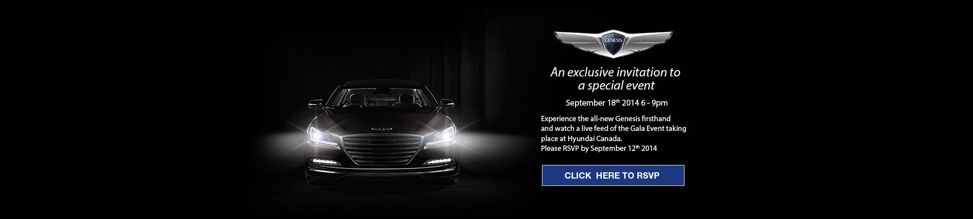 Hyundai Genesis VIP Event
