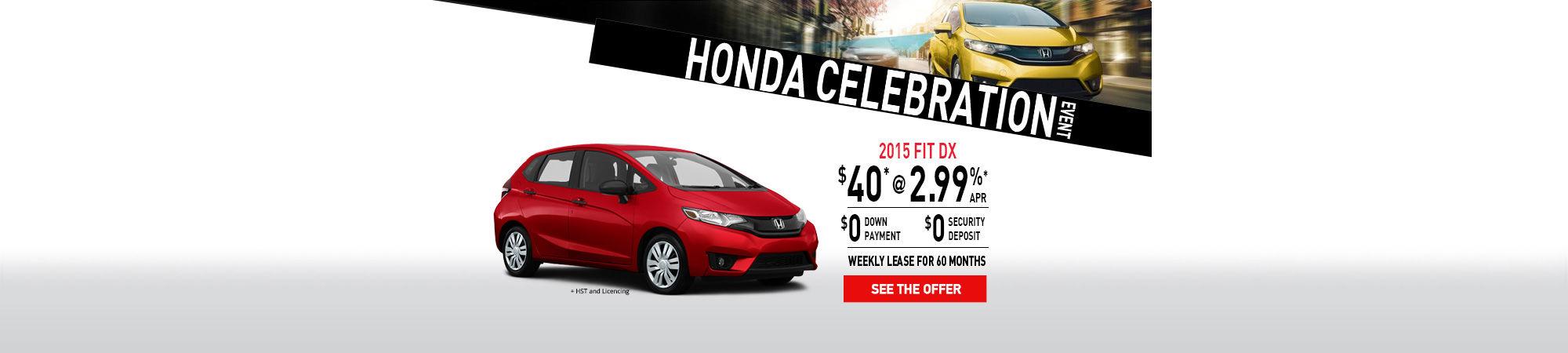 Honda Celebration -2015 Honda FIT-February