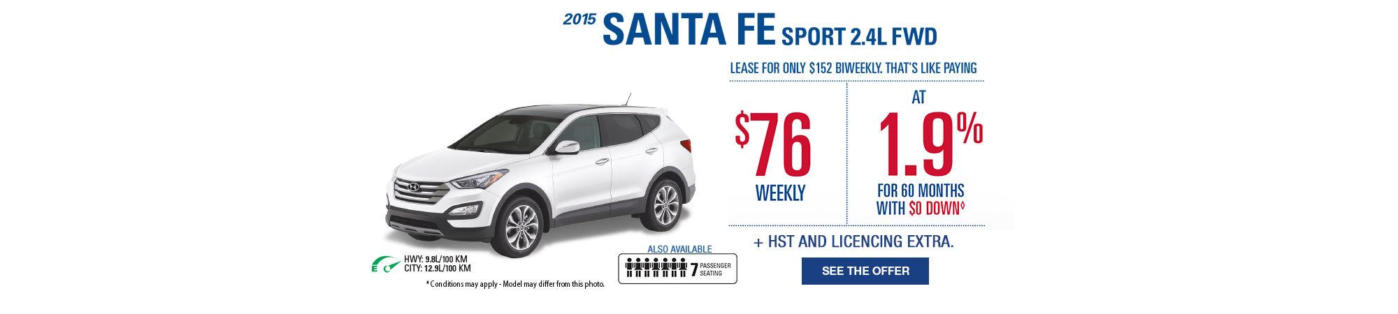 Dealer Invoice Pricing - Santa Fe