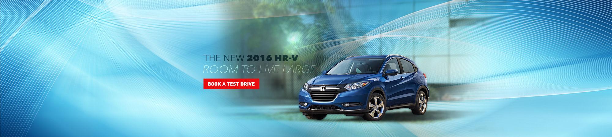 The new 2016 HR-V