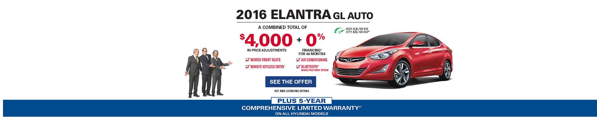 The Hyundai Advantage - Elantra