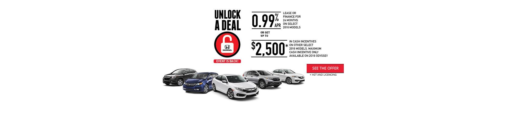 Unlock a Deal - Event