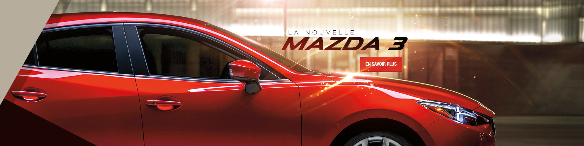 La nouvelle Mazda 3 (Nouveau site)