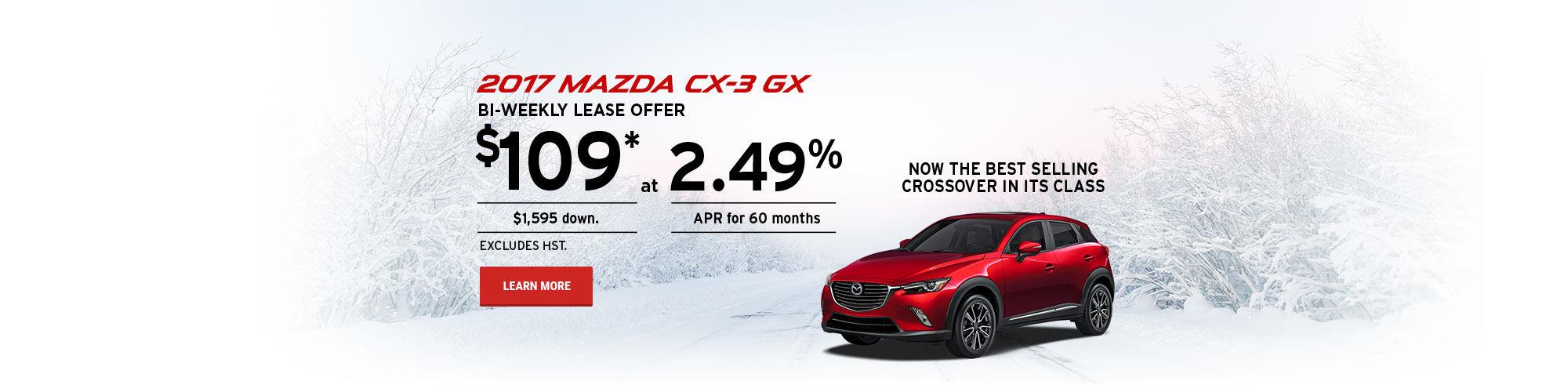 Take Control - Mazda CX3