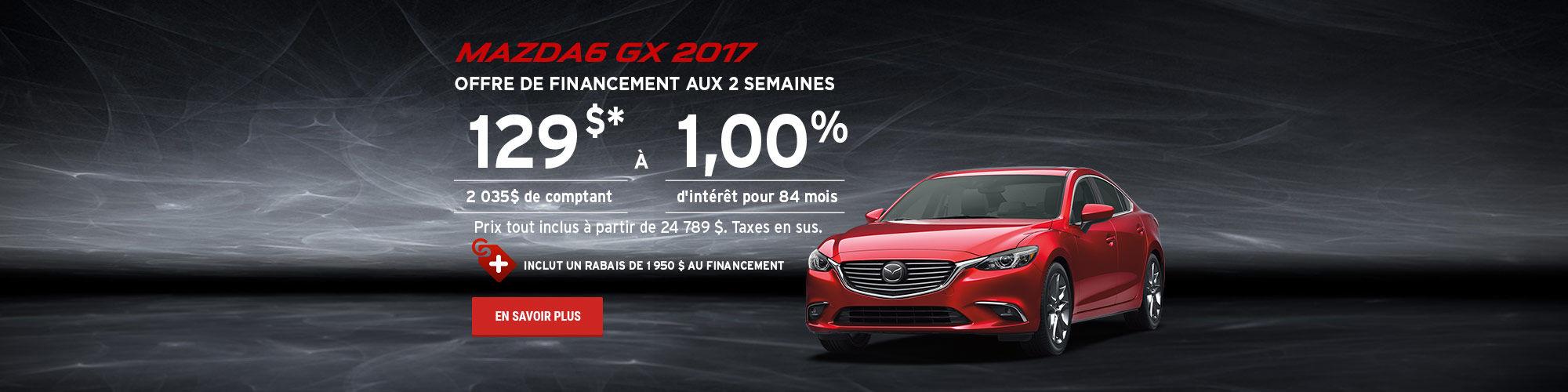 L'événement roulez en Mazda cet été - M6