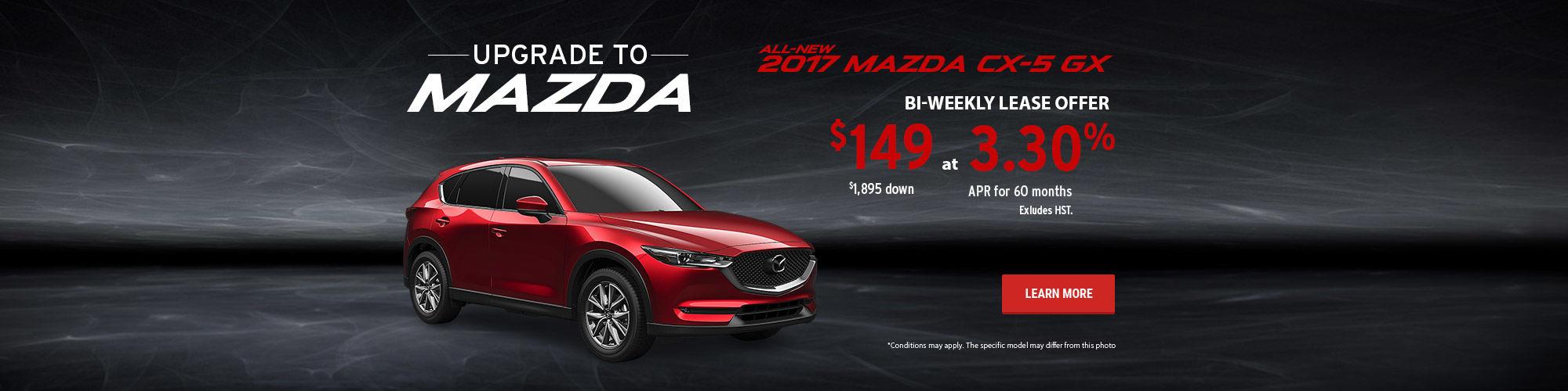 Upgrade to Mazda - CX-5