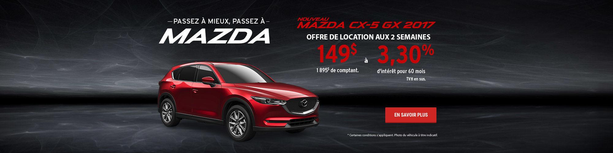 Passez à mieux, passez à Mazda - CX-5