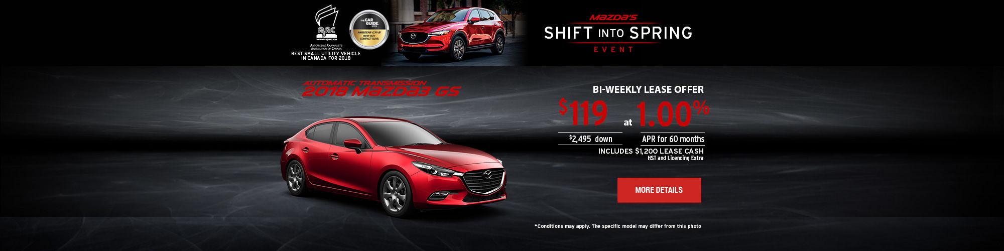 Mazda's Shift Into Spring Event - M3