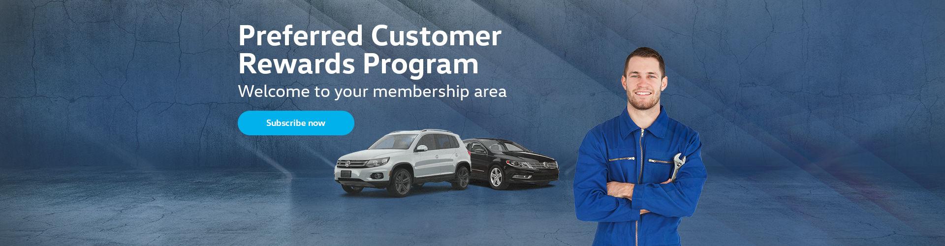 Preferred custom rewards program