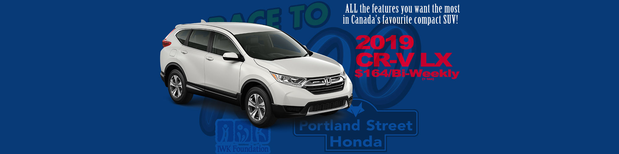 Honda CR-V $164/Bi-Weekly