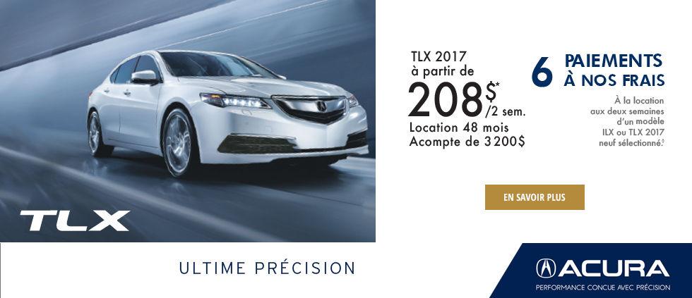 Ultime Précision Promo Septembre TLX