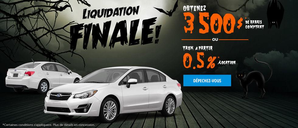 Liquidation Finale!