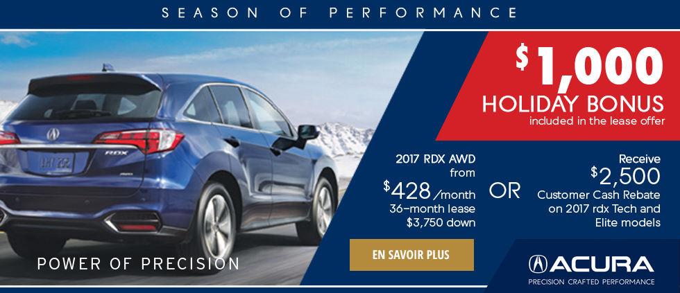 Season of Performance - RDX