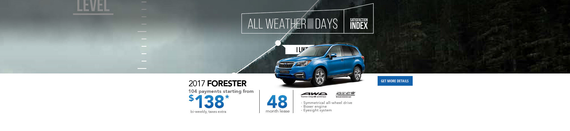 All weather Days-Forester