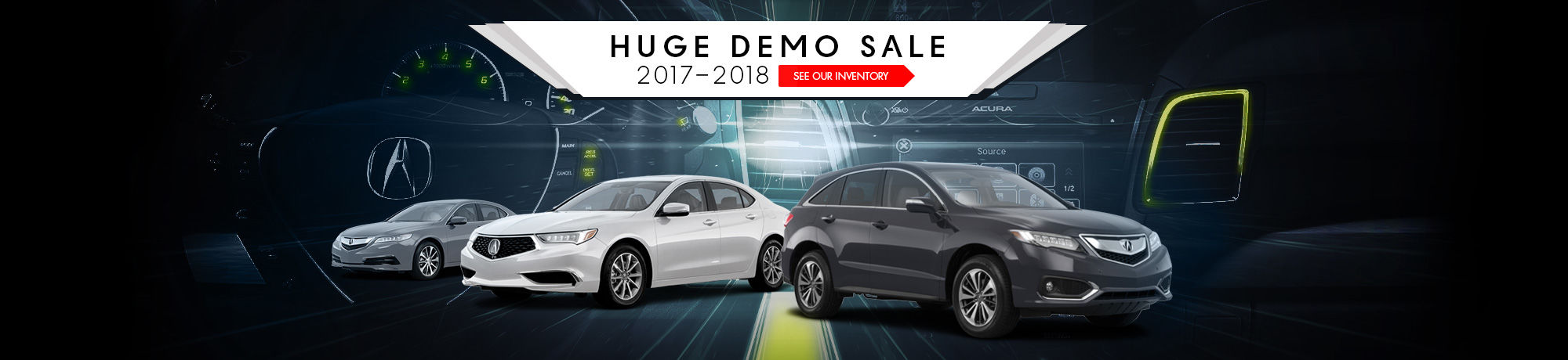 Huge Demo Sale