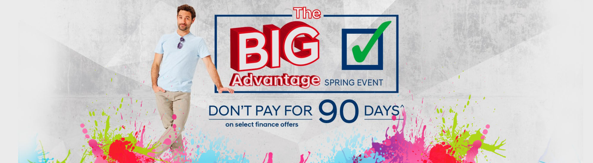 The big advantage spring event