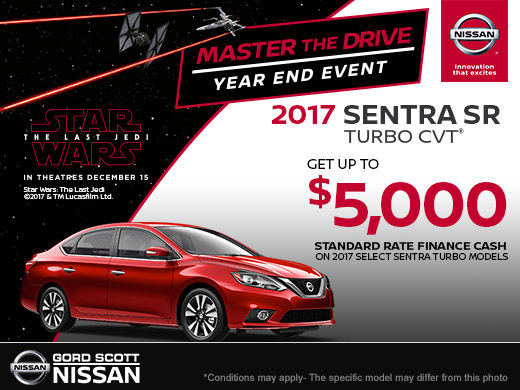 Get the 2017 Nissan Sentra SR Turbo Today