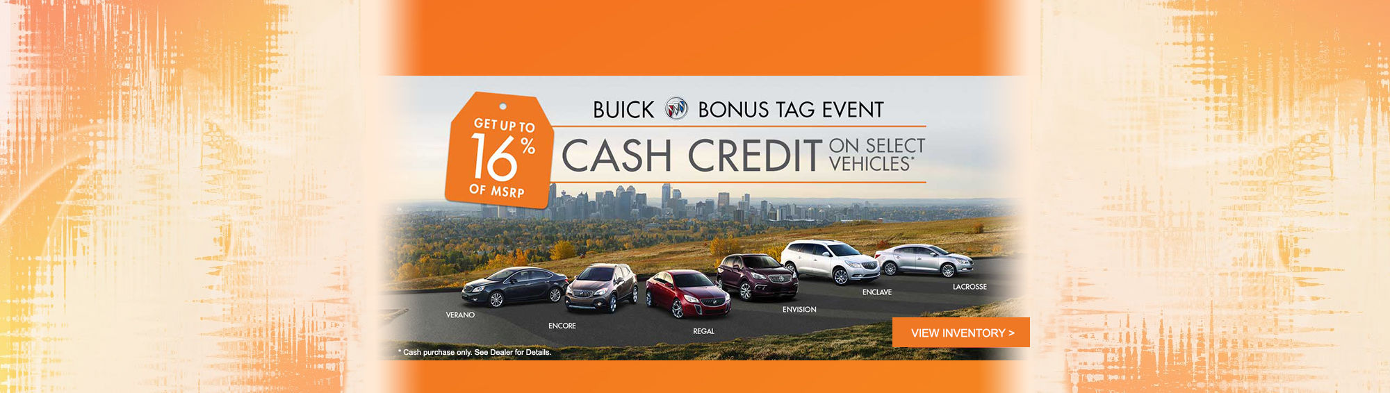 Buick Bonus Tag Event