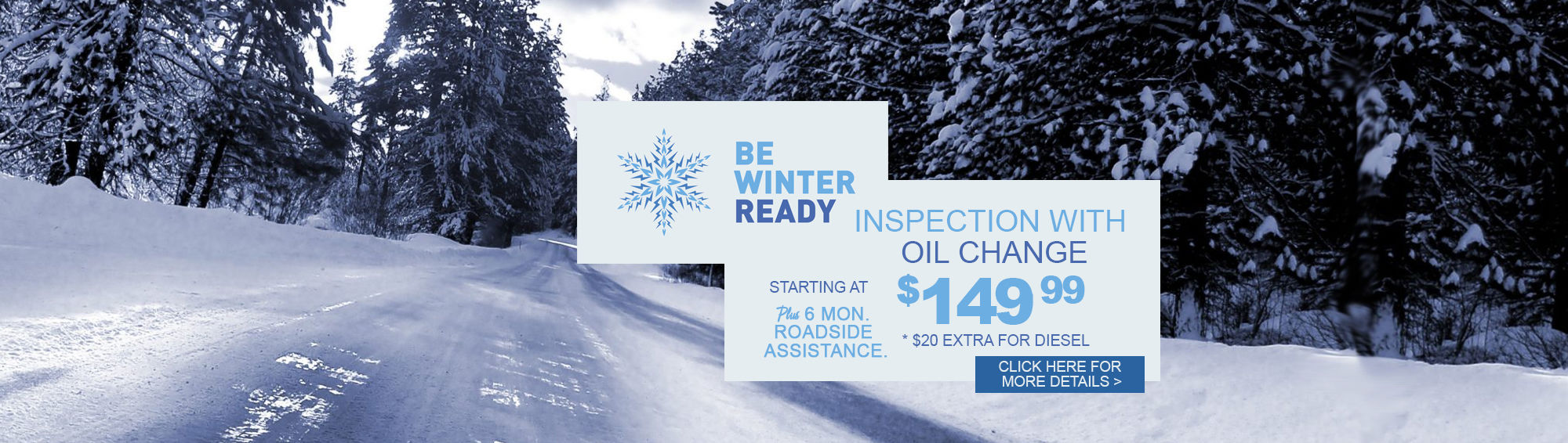Winter Inspection with Oil Change Nov/Dec 2017 (Web)