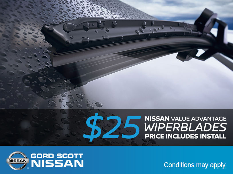 New Wiper Blades for only $25!