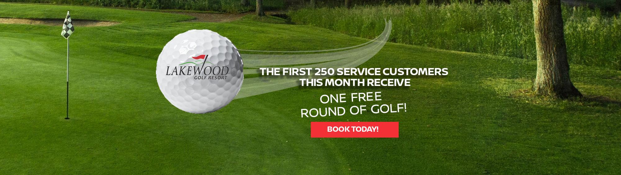 Free Round of Golf