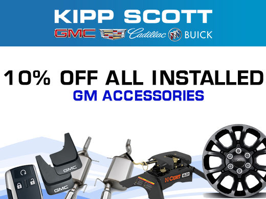 10% Off Installed GM Accessories