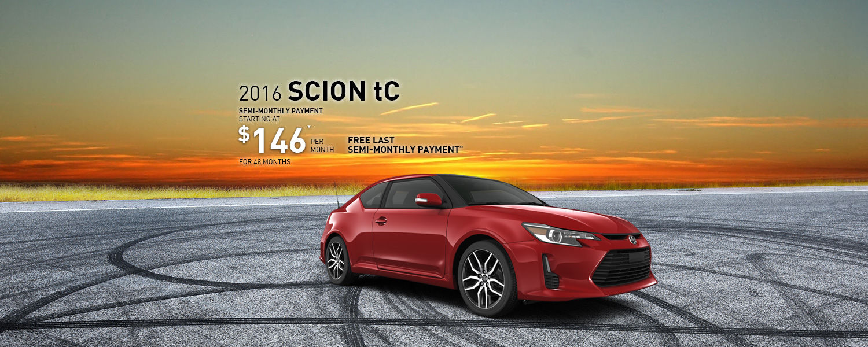 Drive the 2016 Scion tC