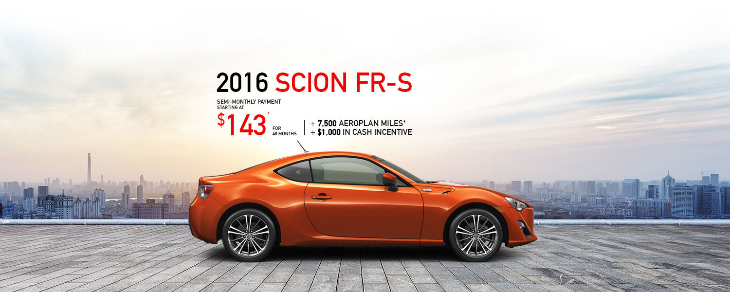 Spinelli Scion - May 2016 - FR-S