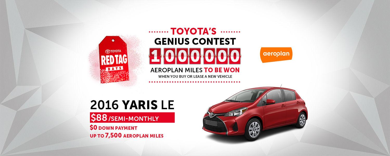 Toyota Yaris - May 2016