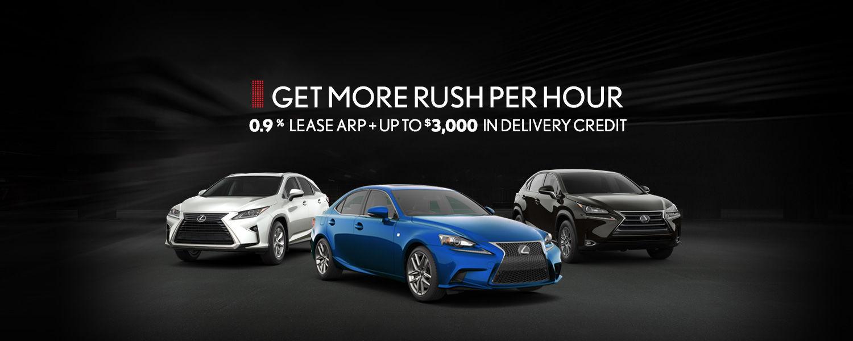 Lexus Promotion - July