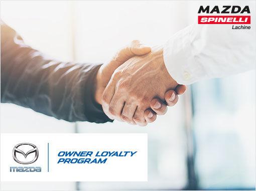 Owner Loyalty Program Spinelli Mazda Promotion In Montreal - Mazda loyalty program