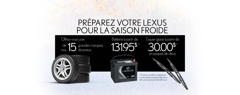 Préparez votre Lexus pour la saison Froide (desktop)