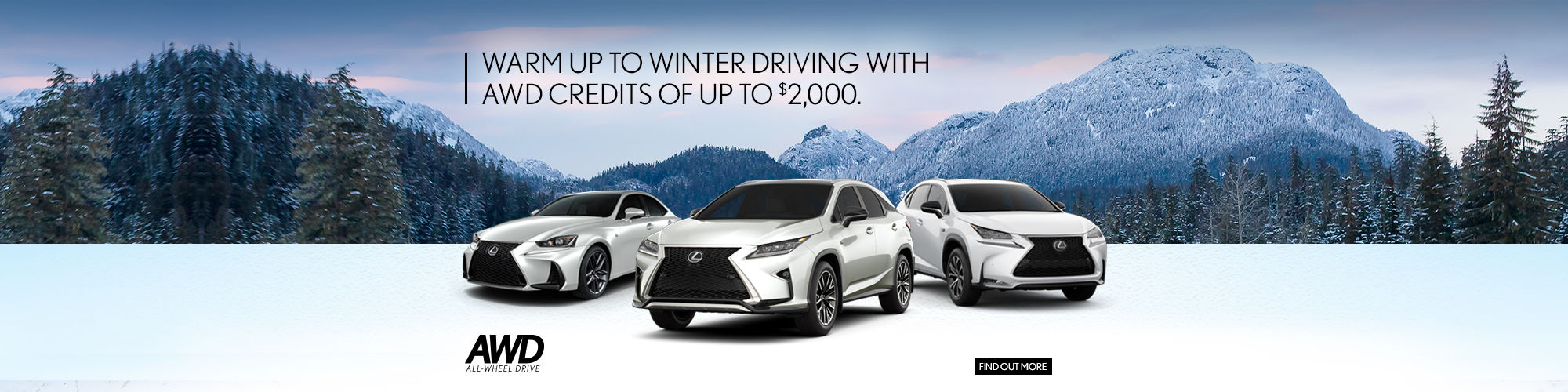 Warm up to winter driving with AWD - Spinelli Lexus