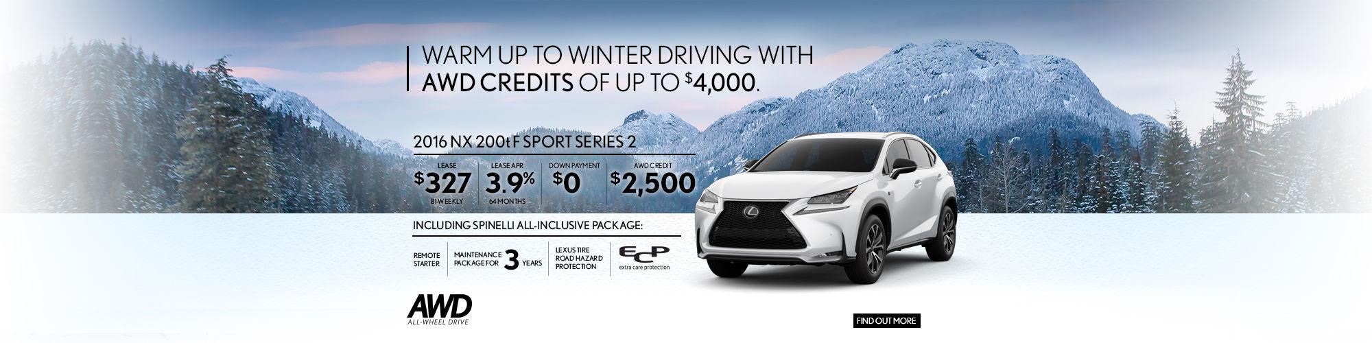 2016 Lexus NX - January